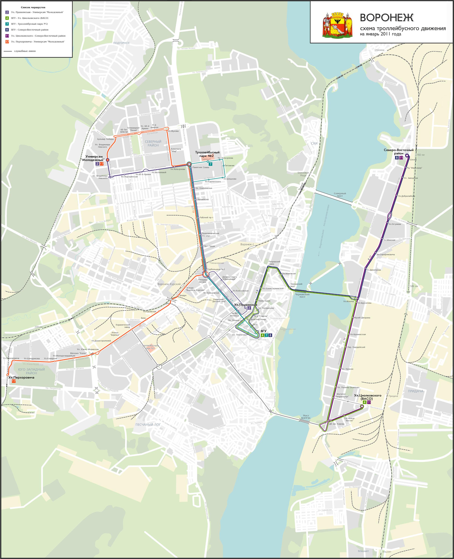 Маршруты движения городского транспорта 752